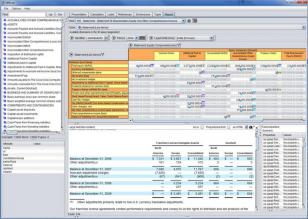 Reporting Standard XBRL Tools Set main screen