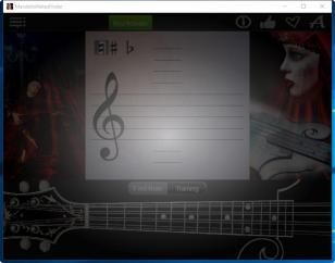 Mandolin Notes Finder main screen