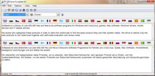 MultiTranse European main screen