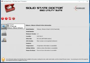 Solid State Doctor main screen