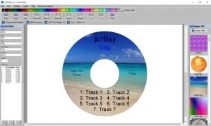 AudioLabel CD/DVD Cover Maker main screen