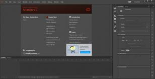 Adobe Creative Cloud main screen