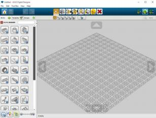 LEGO Digital Designer main screen