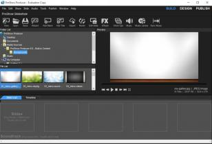 Photodex ProShow Producer main screen