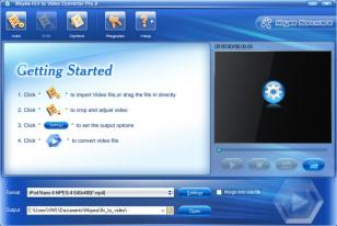 Moyea FLV to Video Converter Pro main screen