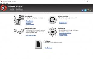 GameSave Manager main screen
