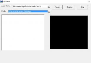 VideoCap ActiveX Control main screen
