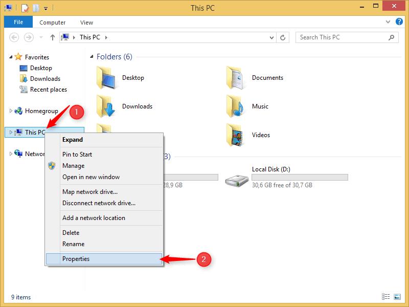 this PC window