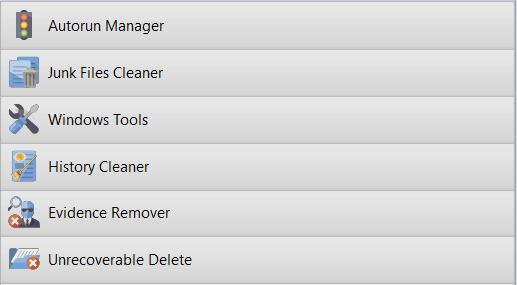 uninstall tools, junk files cleaner, cleaning tools, revo uninstaller